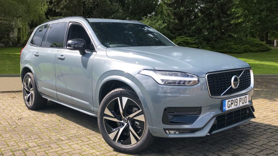 Volvo XC90 B5 R Design Mild Hybrid AWD Auto, Winter Pk, 7SeatComfPk, 360Cam, BLIS, PrivGls & 3PinSkt. 2.0 Diesel Automatic 5 door 4x4 (2019) image