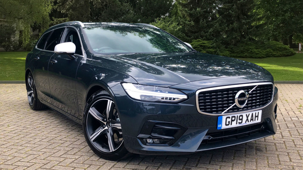 Volvo V90 2.0 D4 R Design Auto W. Winter Pack, Pilot Assist, Privacy Glass & Sensus Navigation Diesel Automatic 5 door Estate (2019) image