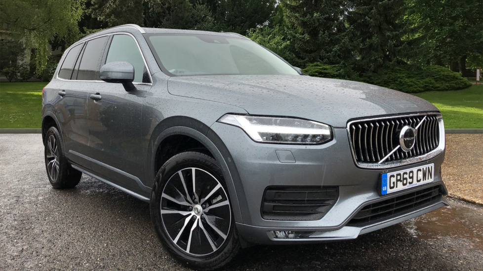 Volvo XC90 B5D Mild Hybrid Momentum AWD AT, Winter & 7 Seat Comfort Pks, 360 Cam, Tints, BLIS & 3 Pin Socket 2.0 Diesel/Electric Automatic 5 door 4x4 (2020) at Volvo Horsham thumbnail image