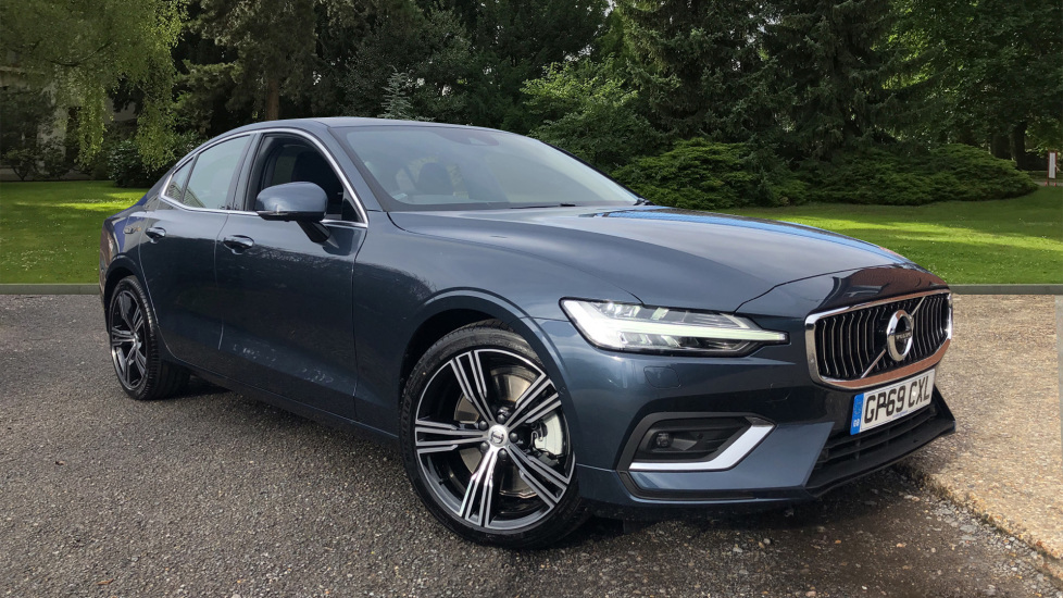 Volvo S60 T5 Inscription Plus AT, Xenium/Convenience/Winter Pks, H.Kardon, Heated R.Seats, BLIS, S/Phone Int 2.0 Automatic 4 door Saloon (2020)