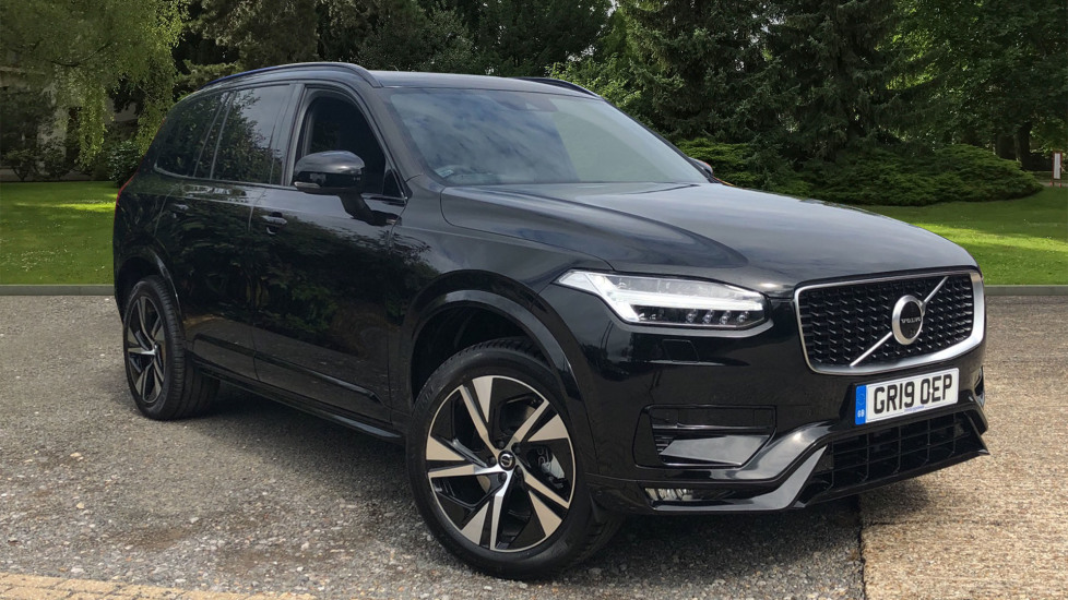 Volvo XC90 T5 R Design AWD Auto with WinterPk, 7SeatConvPk, BLIS, 360Cam & 3PinSkt 2.0 Automatic 5 door 4x4 (2019) image
