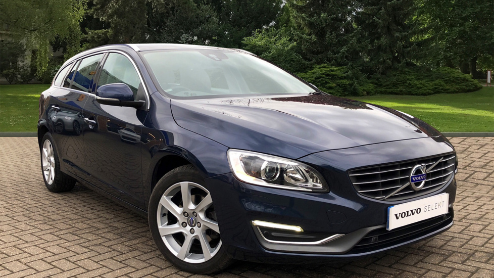 Volvo V60 D3 SE Lux Nav Auto With. Heated Front Seats, Cruise Control, Front And Rear Park Assist  2.0 Diesel Automatic 5 door Estate (2013) image