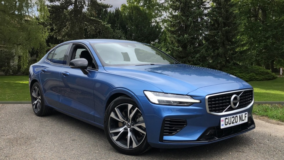 Volvo S60 T8 Hybrid R Design Plus AWD Auto, Nav, Winter Pack, Active Bending Headlights, Keyless Drive 2.0 Petrol/Electric Automatic 4 door Saloon (2020)