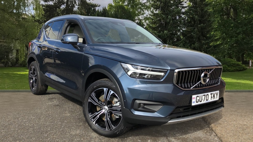 Volvo XC40 T5 Recharge PHEV Inscription Pro Auto, Climate, Lounge & Driver Assist Packs, Sunroof, 360 Camera 1.5 Petrol/Electric Automatic 5 door Estate (2020)