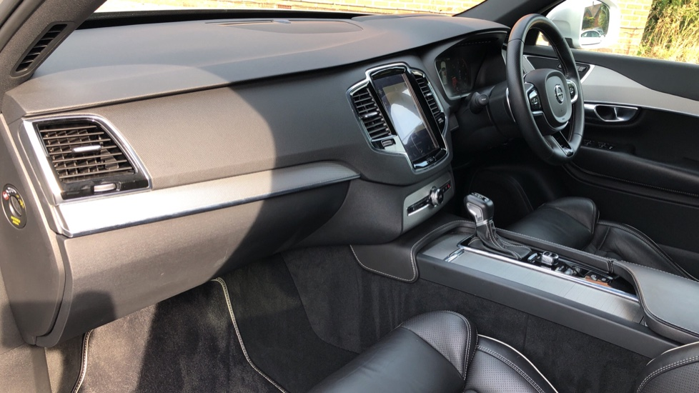 Volvo XC90 D5 PowerPulse R Design AWD Auto, Xenium, Winter & Family Packs, HUD, BLIS, Smartphone Int, image 12