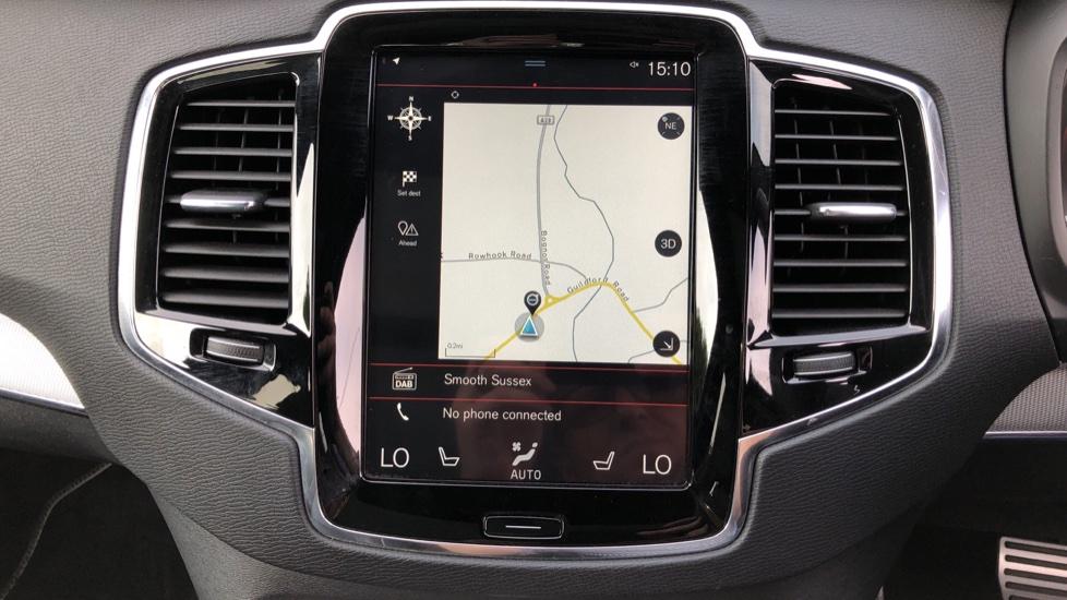 Volvo XC90 D5 PowerPulse R Design AWD Auto, Xenium, Winter & Family Packs, HUD, BLIS, Smartphone Int, image 5