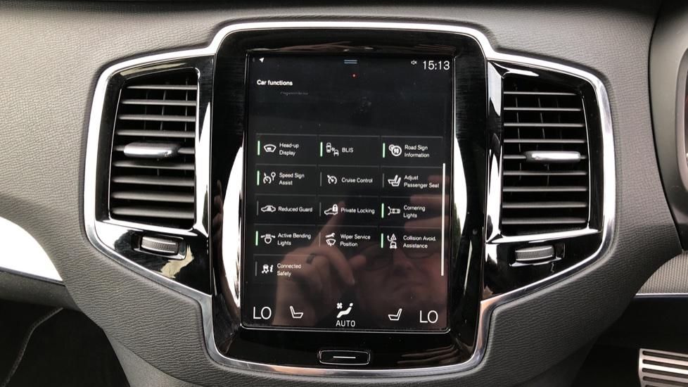 Volvo XC90 D5 PowerPulse R Design AWD Auto, Xenium, Winter & Family Packs, HUD, BLIS, Smartphone Int, image 32