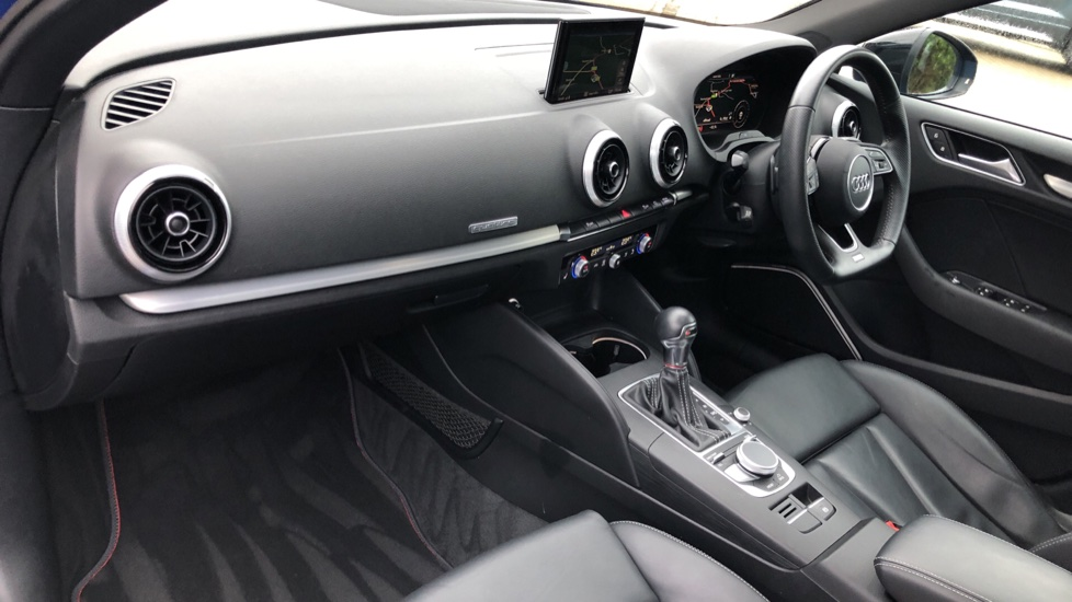 Audi S3 TFSI Quattro Black Edition Auto with Sunroof, Bang & Olufsen, Virtual Cockpit, Rear Sens & DAB image 11