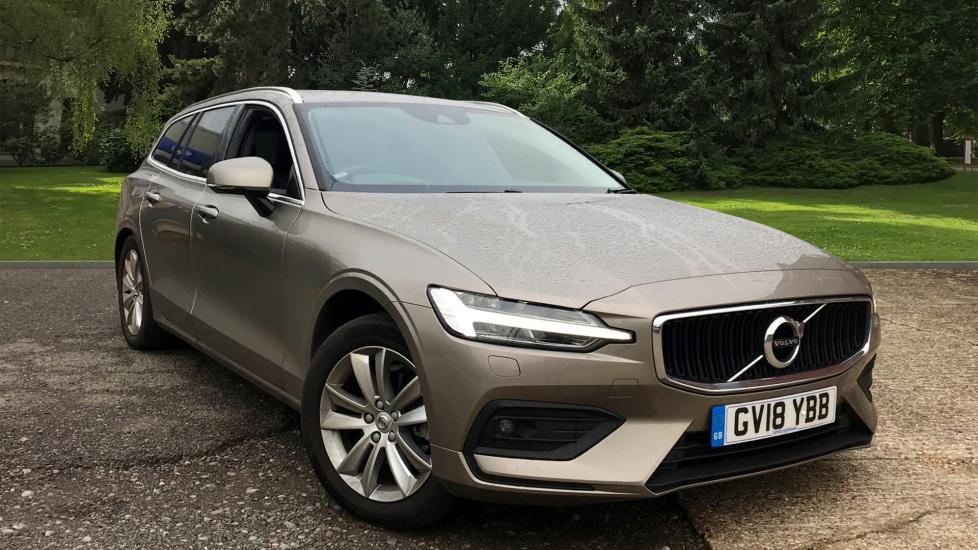 Volvo V60 2.0 D4 Momentum Pro W. Intellisafe Pro, Dark Tinted Windows & Smartphone Integration Diesel Automatic 5 door Estate (2018) image