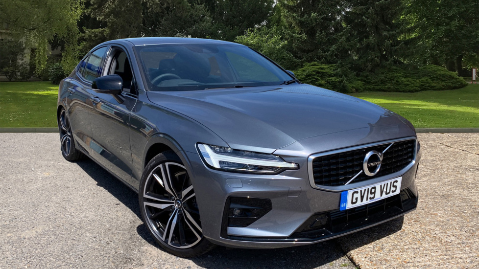 Volvo S60 2.0 T5 R Design Edition Auto With. Launch Pack, Rear Camera & Smartphone  Automatic 5 door Saloon (2019)