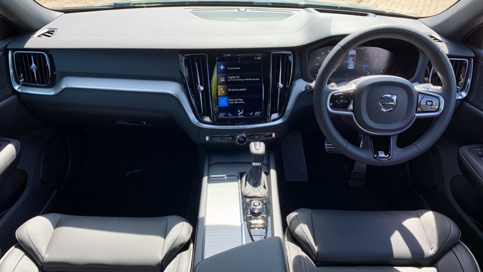 Volvo S60 2.0 T5 R Design Edition Auto With. Launch Pack, Rear Camera & Smartphone  image 6