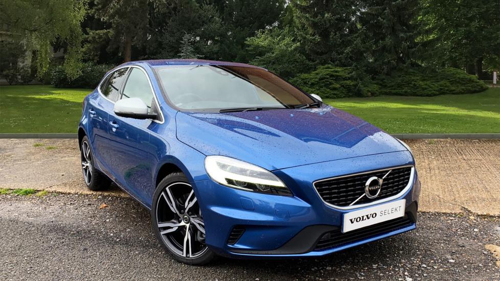 Volvo V40 T3 R Design Edition Auto W. Volvo On Call, Sat Nav, Harmon Kardon, Front & Rear Park Assist 1.5 Automatic 5 door Hatchback (2019)