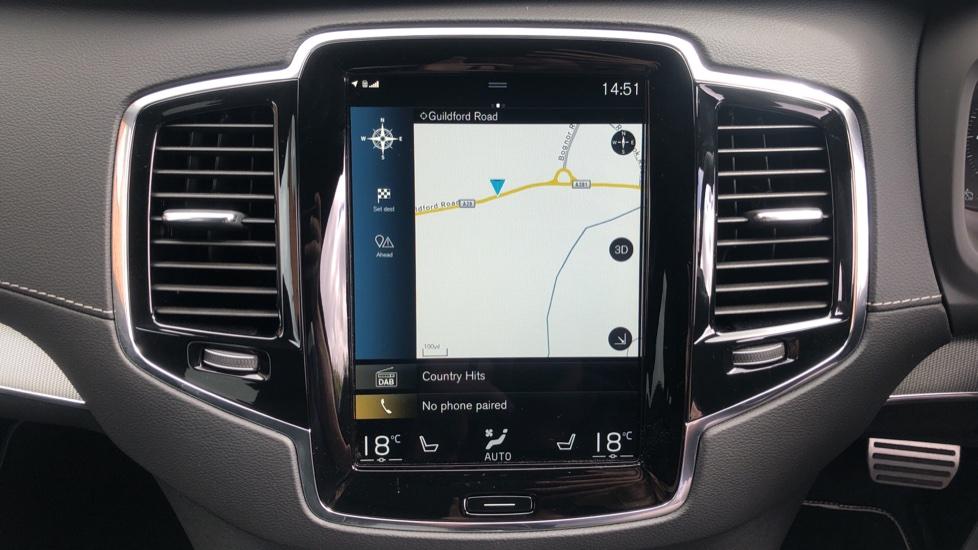 Volvo XC90 B6P R Design Pro AWD Auto, Xenium, Family & 7 Seat Comfort Pack, Sunroof, 360 Camera, BLIS image 7