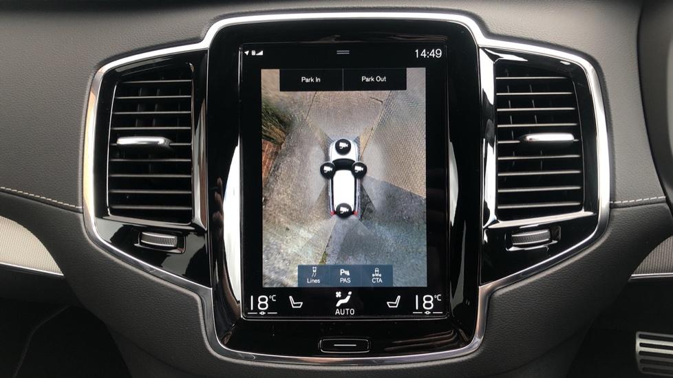 Volvo XC90 B6P R Design Pro AWD Auto, Xenium, Family & 7 Seat Comfort Pack, Sunroof, 360 Camera, BLIS image 9