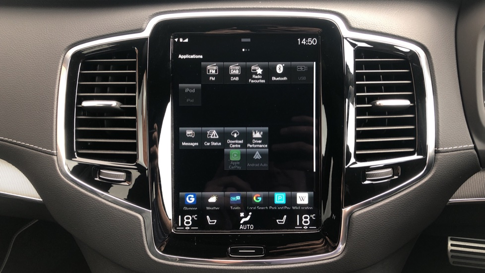 Volvo XC90 B6P R Design Pro AWD Auto, Xenium, Family & 7 Seat Comfort Pack, Sunroof, 360 Camera, BLIS image 34