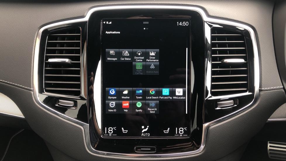 Volvo XC90 B6P R Design Pro AWD Auto, Xenium, Family & 7 Seat Comfort Pack, Sunroof, 360 Camera, BLIS image 35