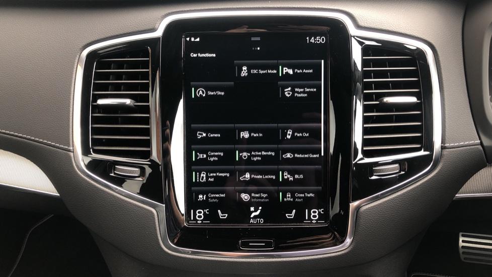 Volvo XC90 B6P R Design Pro AWD Auto, Xenium, Family & 7 Seat Comfort Pack, Sunroof, 360 Camera, BLIS image 36