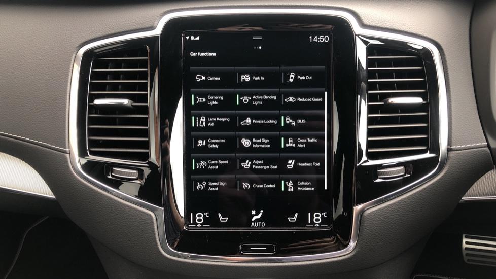 Volvo XC90 B6P R Design Pro AWD Auto, Xenium, Family & 7 Seat Comfort Pack, Sunroof, 360 Camera, BLIS image 37