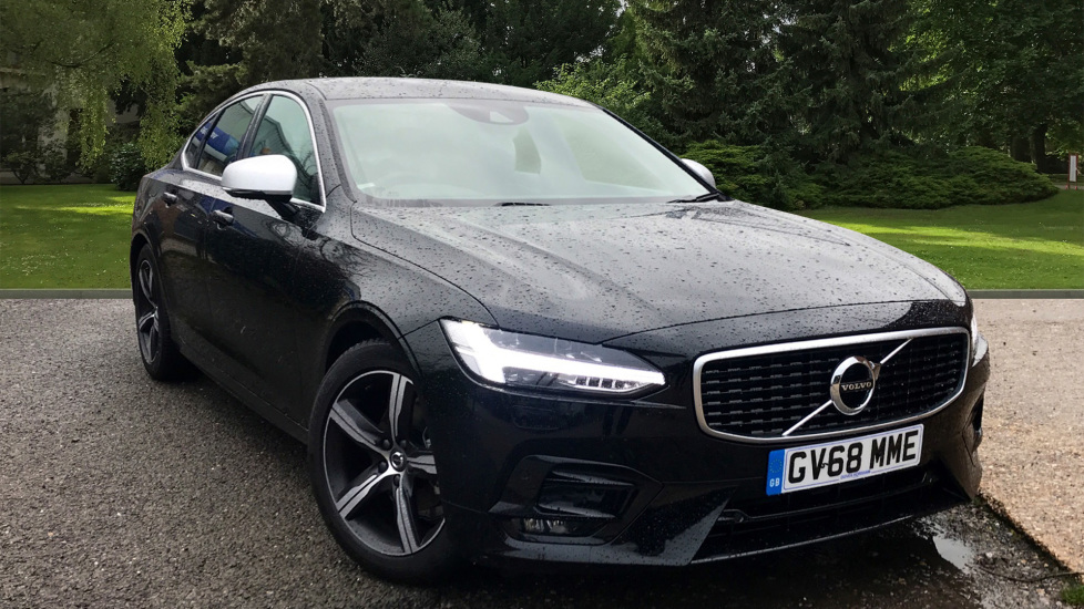 Volvo S90 2.0 D4 R Design Auto W. Winter Pack, Sensus Navigation & Front & Rear Park Assist Diesel Automatic 5 door Saloon (2018)
