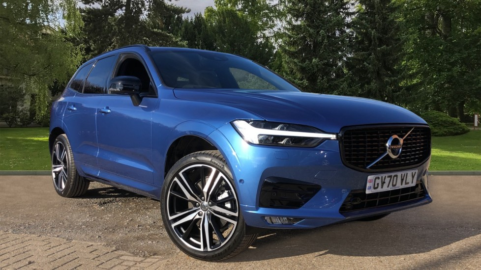 Volvo XC60 B5P Mild Hybrid R Design Pro Auto, Lounge Pack, Sunroof, 360 Camera, Wireless Phone Charging 2.0 Petrol/Electric Automatic 5 door Estate (2021) available from Mazda Northampton Motors thumbnail image