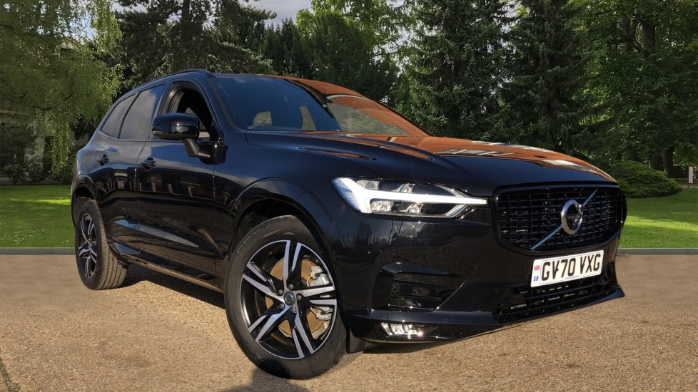 Volvo XC60 B5P Mild Hybrid R Design Auto, Climate Pack, 360 Camera, Blind Spot Information System 2.0 Petrol/Electric Automatic 5 door Estate (2021) available from Ford Canterbury thumbnail image