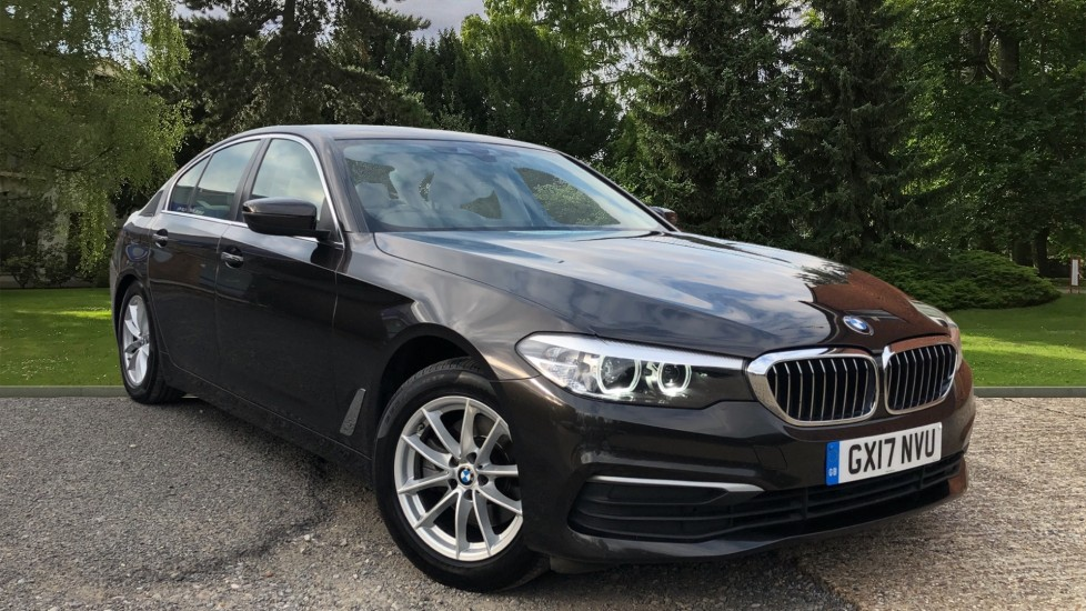 BMW 5 Series 520d SE Auto, Nav, Head Up Display, Through Load System, Front and Rear Seats, DAB Radio,  2.0 Diesel Automatic 4 door Saloon (2017)