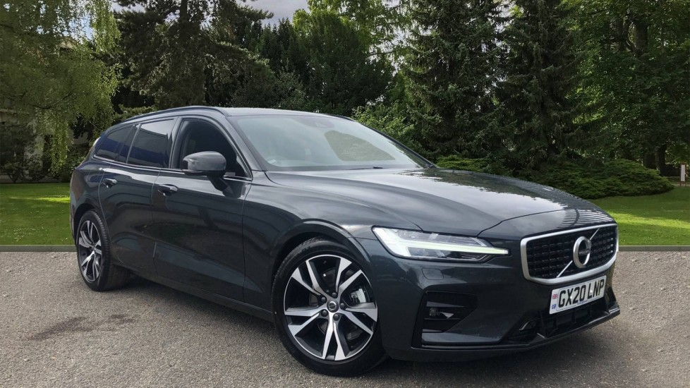 Volvo V60 T4 R Design Plus Auto with Nav, 19in Alloys, Head Up Display, Active Bending Lights 2.0 Automatic 5 door Estate (2019)
