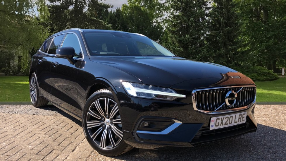 Volvo V60 T4 Inscription Plus Auto, Winter, Convenience & Intellisafe Pro Pks, Privacy Glass & Tempa Spare 2.0 Automatic 5 door Estate (2020)