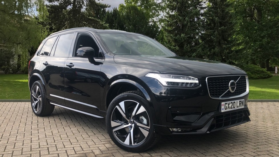 Volvo XC90 B5P Mild Hybrid R Design AWD AT, Winter & 7 Seat Comfort Pack, 360 Cam, BLIS, 3 Pin Socket 2.0 Petrol/Electric Automatic 5 door 4x4 (2020)