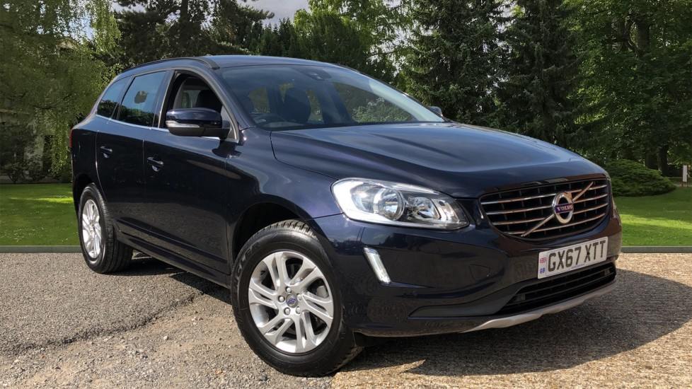 Volvo XC60 D4 SE Nav Auto, Winter Pack, Heated Screen & Front Seats, Rear Sensors, DAB, Bluetooth 2.0 Diesel Automatic 5 door Estate (2017)