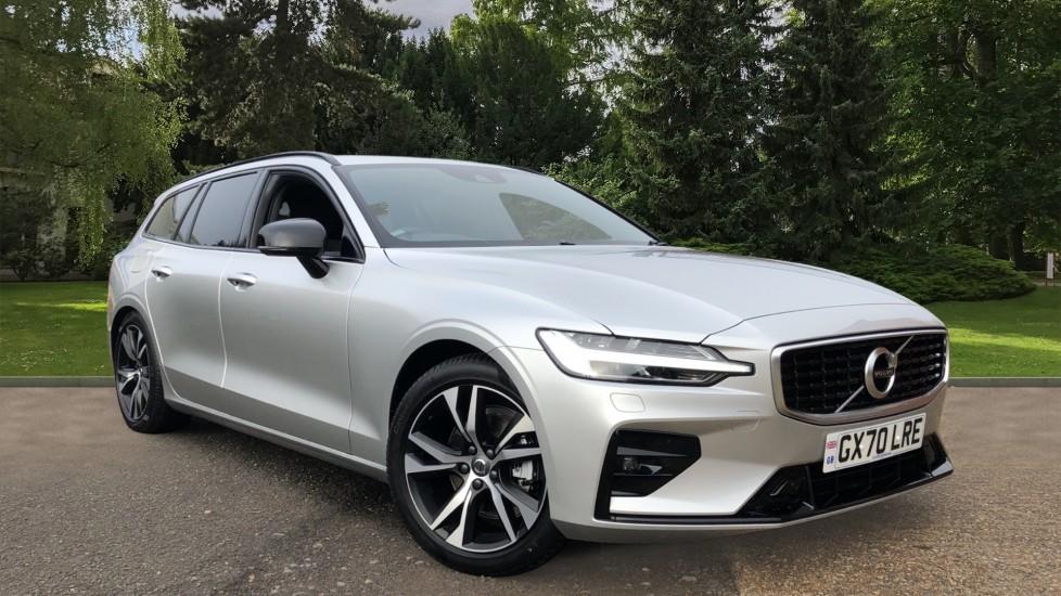 Volvo V60 D3 R Design Plus Auto, Winter & Convenience Packs, Rear Camera, Head Up Display, Keyless Drive 2.0 Diesel Automatic 5 door Estate (2020)