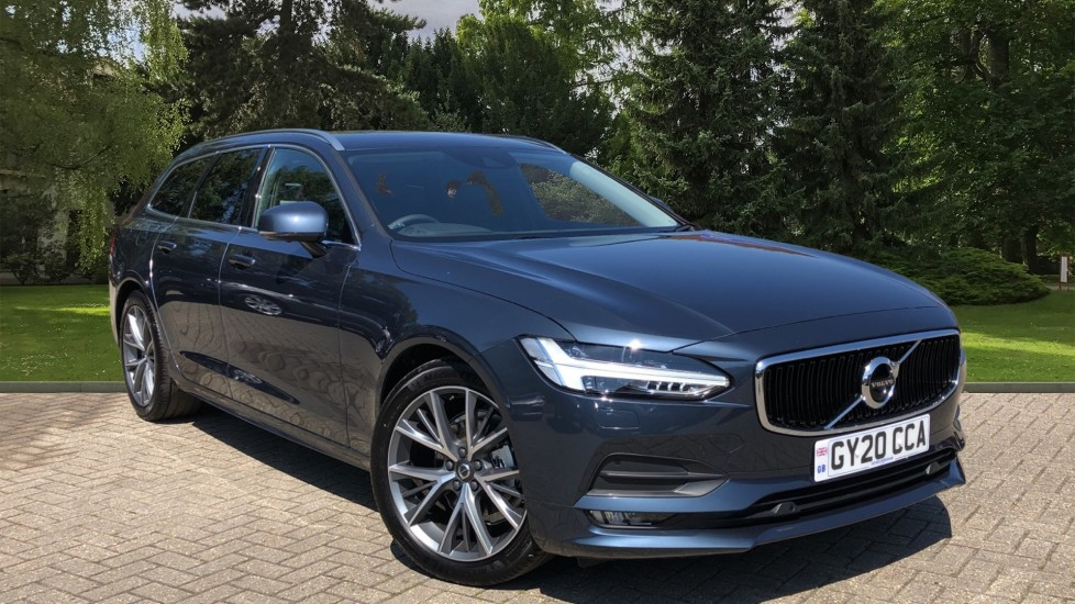 Volvo V90 T4 Momentum Plus Auto, Winter Pack, Privacy Glass, 360 Camera, BLIS, 3 Pin Socket, 19in Alloys 2.0 Automatic 5 door Estate (2020) at Volvo Horsham thumbnail image