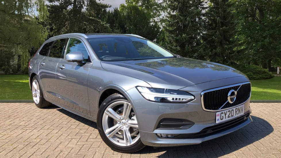 Volvo V90 T4 Momentum Plus Auto, Winter Pack, Heated Screen & Steering Wheel, 360 Camera, BLIS, Tints 2.0 Automatic 5 door Estate (2020)