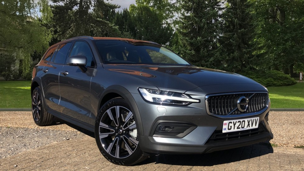 Volvo V60 T5 Cross Country Plus AWD Auto, Xenium, Convenience & Winter Packs, BLIS, Harman Kardon 2.0 Automatic 5 door 4x4 (2020)