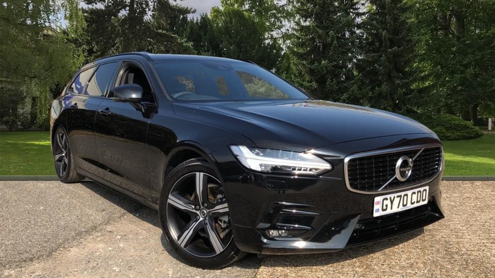 Volvo V90 T4 R Design Plus Auto, Winter Pack, Heated Steering Wheel, BLIS, Sat Nav, 360 Camera 2.0 Automatic 5 door Estate (2020)