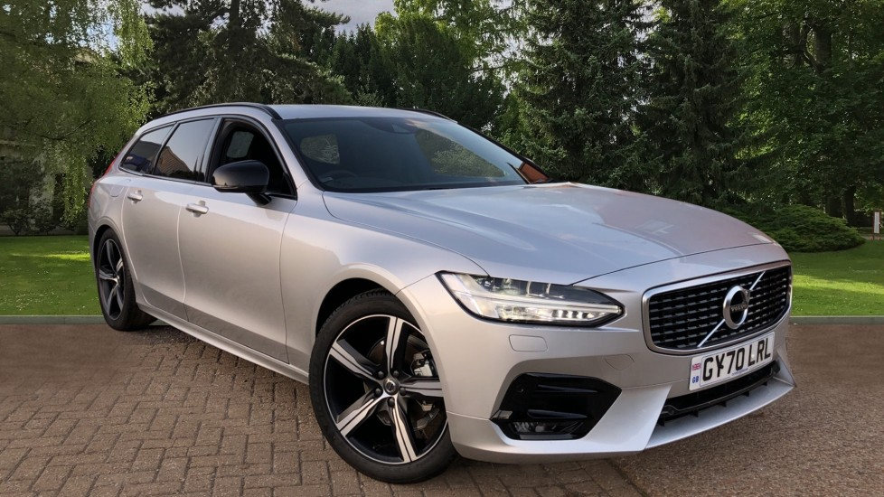 Volvo V90 T4 R Design Plus Auto, Nav, Winter & Family Packs, Heated Screen, Booster Seats, DAB Radio 2.0 Automatic 5 door Estate (2020)