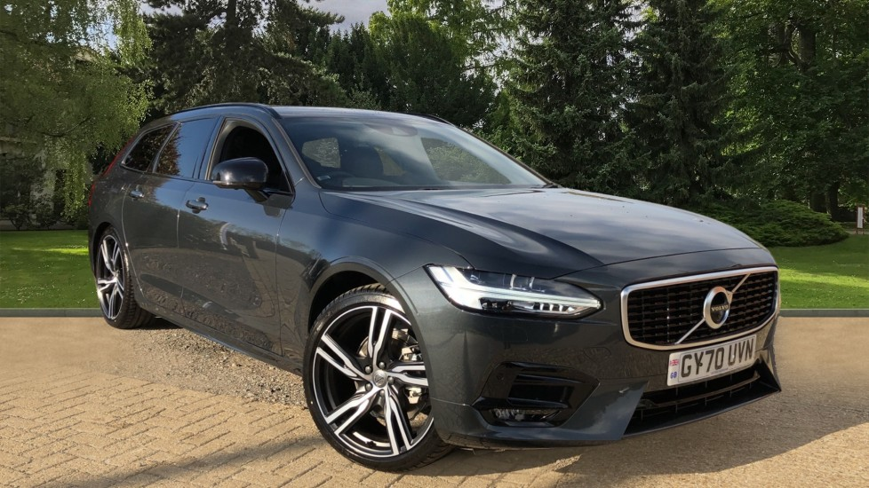 Volvo V90 D4 R Design Plus Auto, Nav, Winter Pack, Head Up Display, 360 Camera, BLIS, 20 Inch Alloys 2.0 Diesel Automatic 5 door Estate (2020) available from Preston Motor Park Abarth, Alfa Romeo, Fiat, Jeep and Volvo thumbnail image