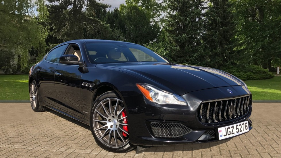 Maserati Quattroporte S V6 GranSport S, Nav, Rear Camera, Harman Kardon, Sunroof, Heated Seats & Steering Wheel, DAB 3.0 Automatic 4 door Saloon (2017) image