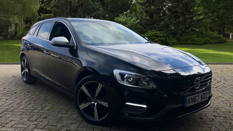 Volvo V60 D4 R Design Nav Automatic W. Driver Support Pack, Winter Pack & Adaptive Cruise Control 2.0 Diesel 5 door Estate (2017) image