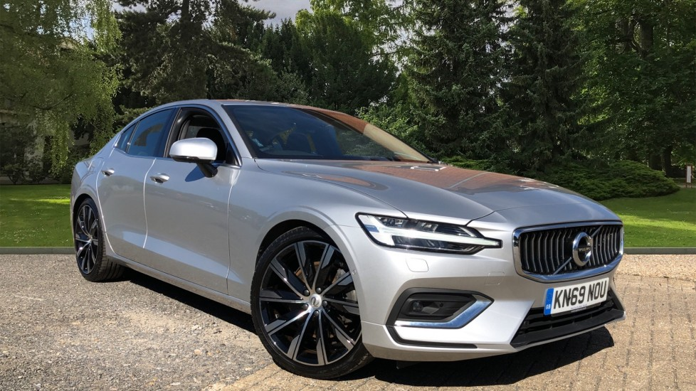 Volvo S60 T5 Inscription Plus Auto, Xenium Pack, 360 Camera, PanoSunroof, Intellisafe Pro, Harman Kardon 2.0 Automatic 4 door Saloon (2019)