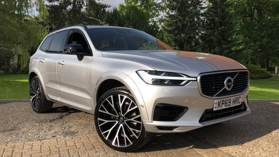 Volvo XC60 T8 Hybrid R Design Pro AWD Auto, Family, Xenium and Convenience Packs, Sunroof, 360 Camera 2.0 Petrol/Electric Automatic 5 door 4x4 (2019)