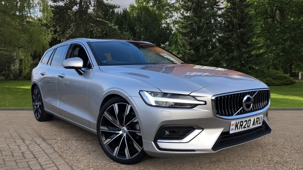 Volvo V60 D4 Inscription Plus Auto, Winter & Convenience Packs, Adaptive Cruise, 20 Inch Alloys, Tints, BLIS 2.0 Diesel Automatic 5 door Estate (2020) image