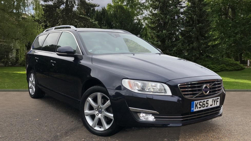 Volvo V70 D4 SE Lux Auto, Nav, Winter Pack, Active Bending Lights, Heated Screen, DAB Radio, Rear Sensors 2.0 Diesel Automatic 5 door Estate (2016)