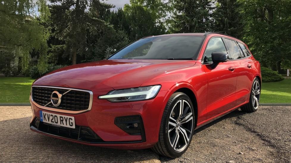 Volvo V60 T5 R Design Plus Auto, Xenium, Convenience, Winter & IntelliPro Packs, Sunroof, 360 Camera image 3