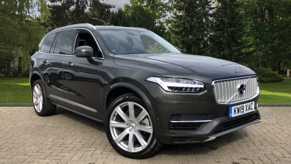 Volvo XC90 T8 Plug In Hybrid Inscription Pro AWD AT, Xenium Pk, S/Phone Intg, Air Susp, BLIS, Pano Roof, Tints 2.0 Petrol/Electric Automatic 5 door 4x4 (2019) image