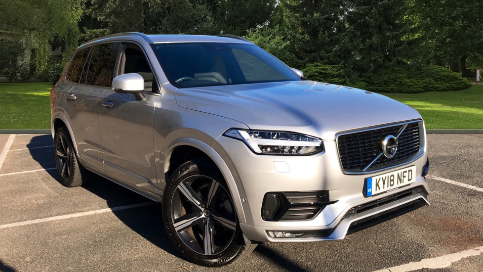 Volvo XC90 2.0 D5 PowerPulse AWD R Design Nav Auto with Xenium Pack, Winter Pack & 360 Camera Diesel Automatic 5 door Estate (2018) at Volvo Gatwick thumbnail image