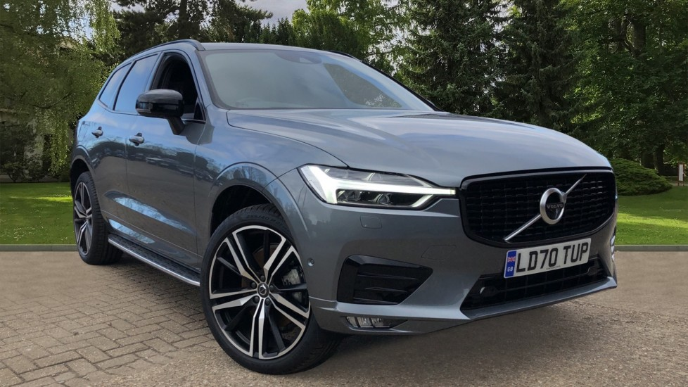 Volvo XC60 B4D Mild Hybrid R Design Pro AWD Auto, Nav, Lounge, Climate & Driver Assist Packs, Sunroof, BLIS 2.0 Diesel/Electric Automatic 5 door 4x4 (2020) available from Land Rover Swindon thumbnail image