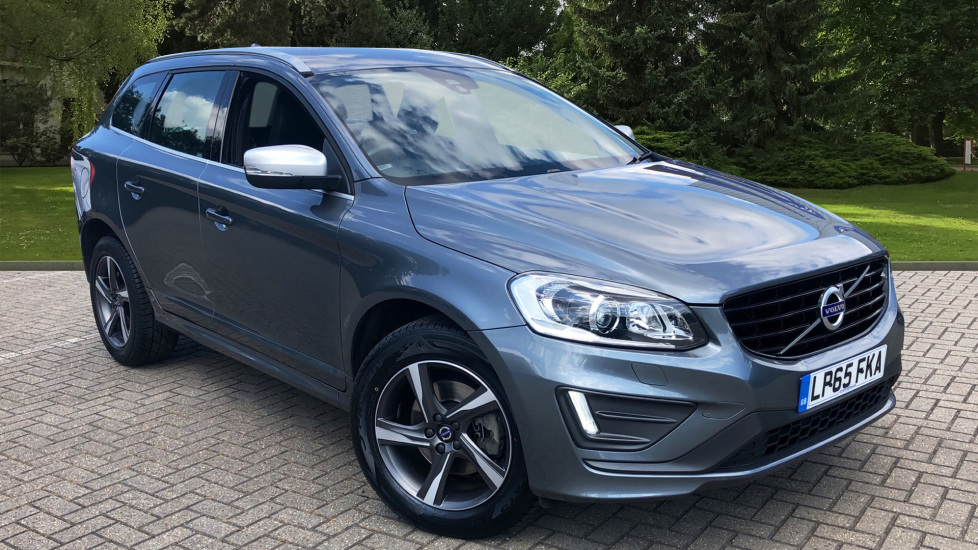 Volvo XC60 D4 R Design Lux AWD Auto, Winter Pk, DAB, Front/Rear Park Assist  2.4 Diesel Automatic 5 door Estate (2015) image