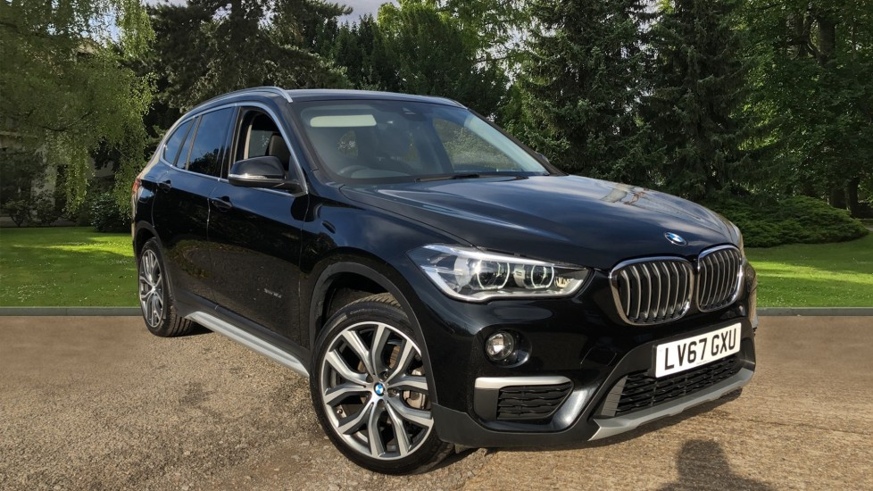 BMW X1 xDrive 18d xLine Auto, Nav, Front & Rear Sensors, Rear Camera, Power Tailgate, DAB Radio 2.0 Diesel Automatic 5 door 4x4 (2017) available from Jaguar Swindon thumbnail image