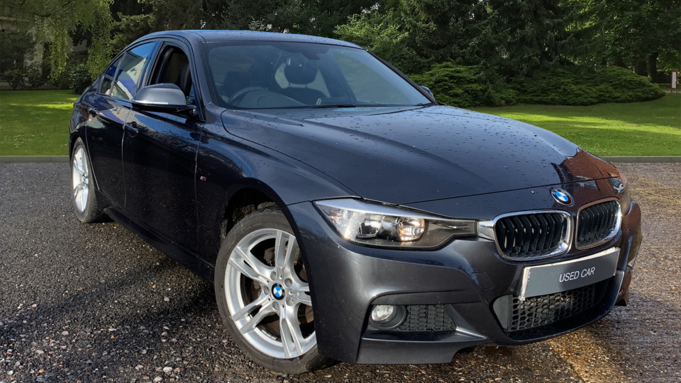 BMW 3 Series 320d M Sport Steptronic Auto, Business Media, Hard Disc Drive, Bluetooth, DAB, Rev Sensors 2.0 Diesel Automatic 4 door Saloon (2015)